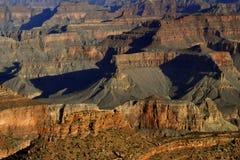 каньон красит грандиозной Стоковые Фотографии RF