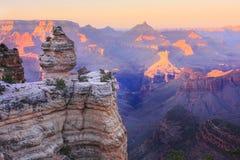 каньон красит грандиозным Стоковое фото RF
