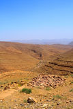 каньон Марокко Стоковые Фото