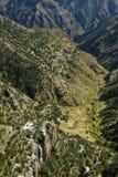 каньон медная Мексика Стоковое Изображение RF