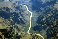 каньон Невада Стоковое Фото