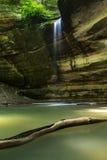 Каньон Оттавы, проголоданный парк штата утеса, Иллинойс Стоковое Фото