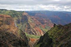 каньон падает waipoo waimea Стоковая Фотография RF