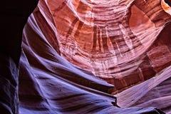 Каньон под поверхностью стоковые изображения