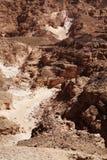 каньон покрасил Египет Стоковое Изображение RF