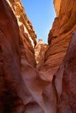 каньон покрасил Египет Стоковые Фото