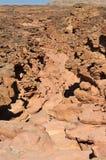 каньон покрасил стоковые изображения rf