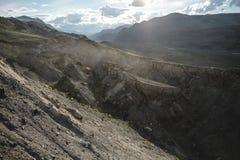 Каньон после массивнейшего землетрясения стоковые изображения