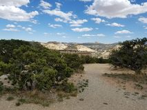 Каньон пустыни в Юте 2 Стоковые Изображения