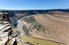 Каньон реки рыб - Намибия, Африка стоковое фото rf