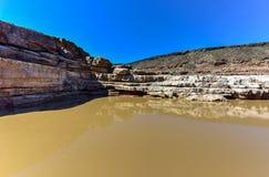 Каньон реки рыб - Намибия, Африка стоковые фото