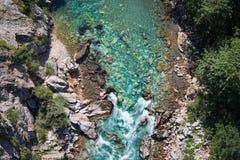 Каньон реки Тары стоковые изображения rf