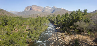 Каньон реки Blyde, Мпумаланга, Южная Африка Стоковое фото RF