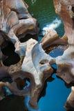 Каньон реки Blyde, Южная Африка, Мпумаланга Стоковое Изображение