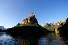 Каньон реки Blyde стоковое фото rf