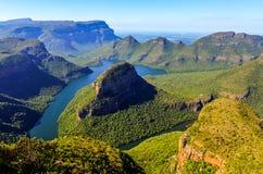 Каньон реки Blyde стоковые изображения