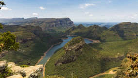 Каньон реки Blyde Стоковое Фото