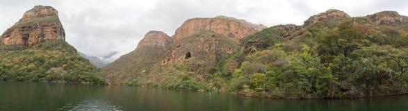 Каньон реки Bydle, Южная Африка стоковые фото