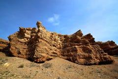 Каньон реки Charyn стоковые изображения rf