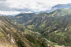 Каньон реки Toachi стоковые изображения