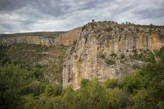 Каньон рядом с городком Chulilla стоковые изображения rf