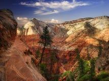 каньон спрятанный к путю Стоковое Фото