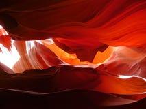каньон США antilope Стоковое Изображение