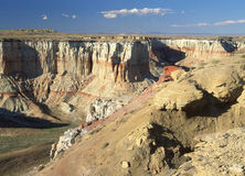 Каньон угольной шахты, AZ Стоковое Изображение RF