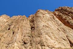 Каньон ущелья Todgha стоковые фото
