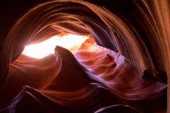 Каньон шлица в Аризоне Стоковое Изображение