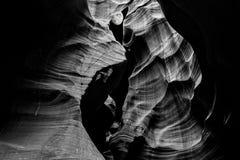 Каньон шлица около страницы, Аризоны стоковое изображение rf