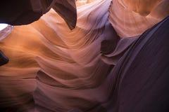 Каньон шлица в Аризоне Стоковая Фотография