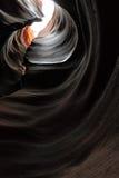 Каньон шлица Юты Стоковая Фотография