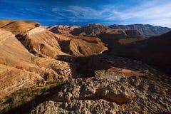 Каньон южная марокканськая Африка Dades стоковое фото
