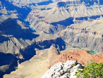 каньон 025 грандиозный Стоковая Фотография