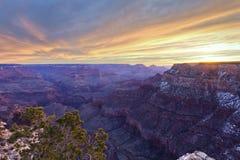 каньон 10 Аризон грандиозный Стоковое Изображение