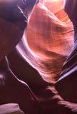 каньон 2 антилоп Стоковое фото RF