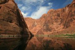Каньон 2 распадка реки Колорадо Стоковые Изображения RF