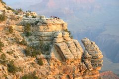 каньон 4 грандиозный Стоковые Изображения RF