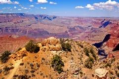 каньон 7 грандиозный Стоковые Фотографии RF