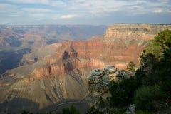 каньон 7 грандиозный Стоковое Фото