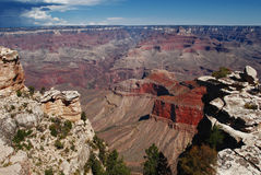 каньон 9 грандиозный Стоковые Фото