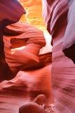 каньон az антилопы стоковое фото