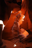 каньон az антилопы стоковое изображение