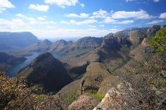 каньон blyde стоковая фотография
