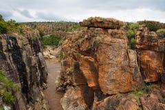 каньон blyde Стоковые Изображения RF