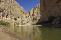Каньон Boquillas, большой национальный парк загиба Стоковая Фотография