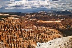 каньон bryce амфитеатра Стоковая Фотография
