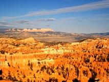 Каньон Bryce в свете утра (США) Стоковые Изображения