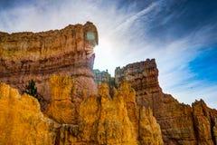 Каньон Bryce горных пород в Юте Соединенных Штатах Америки Стоковые Изображения